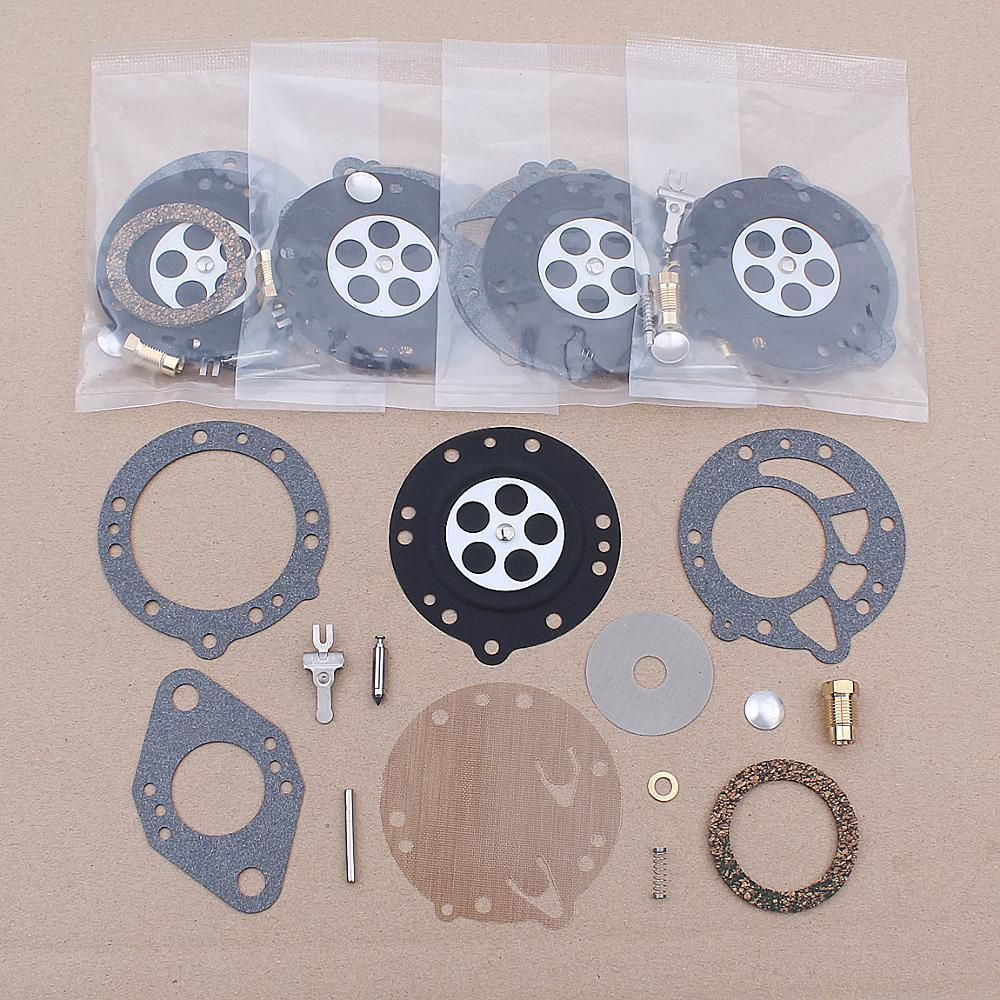 5pcs/lot Carburetor Rebuild Kit For Stihl 08 TF350 TS350 Chainsaw Tillotson RK-114HL HL-109B HL-112D HL-125C HL-132C