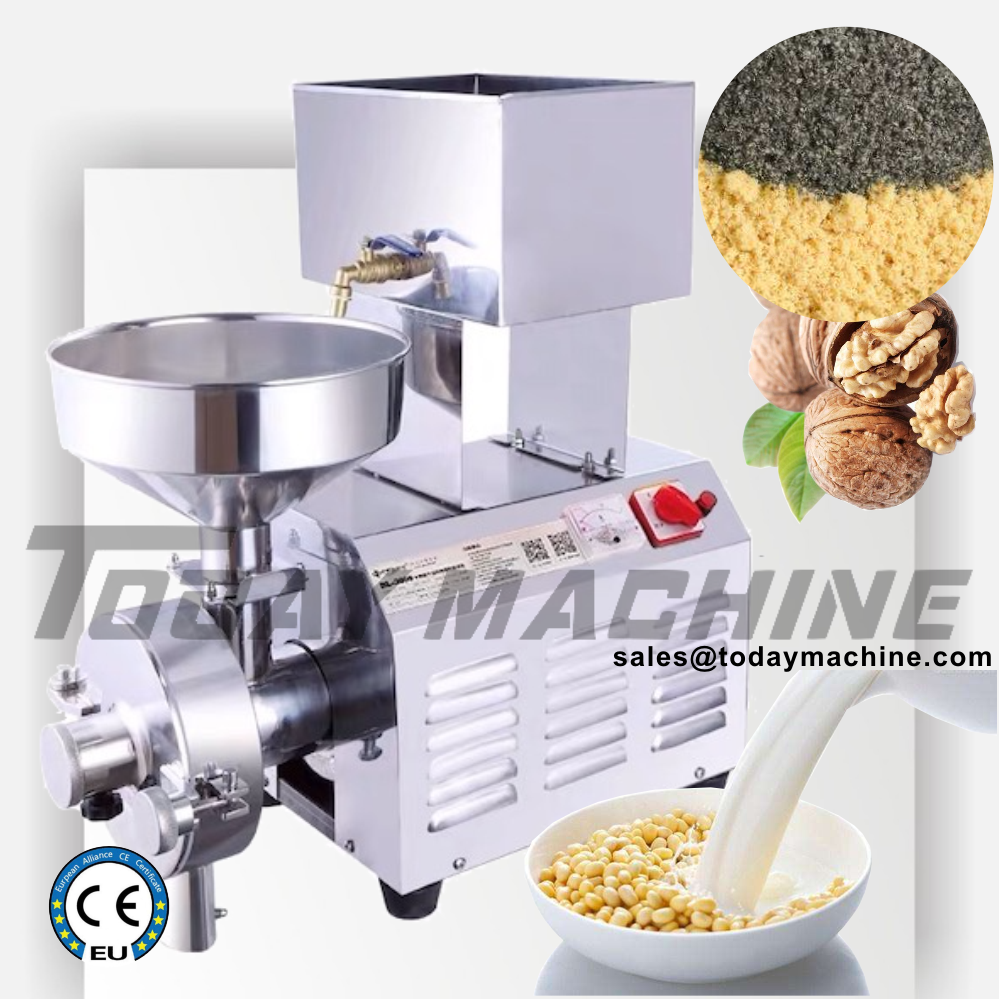 Electric Grain Vegetable Fruit Food Bean Corn Wheat Powder Pulverizer