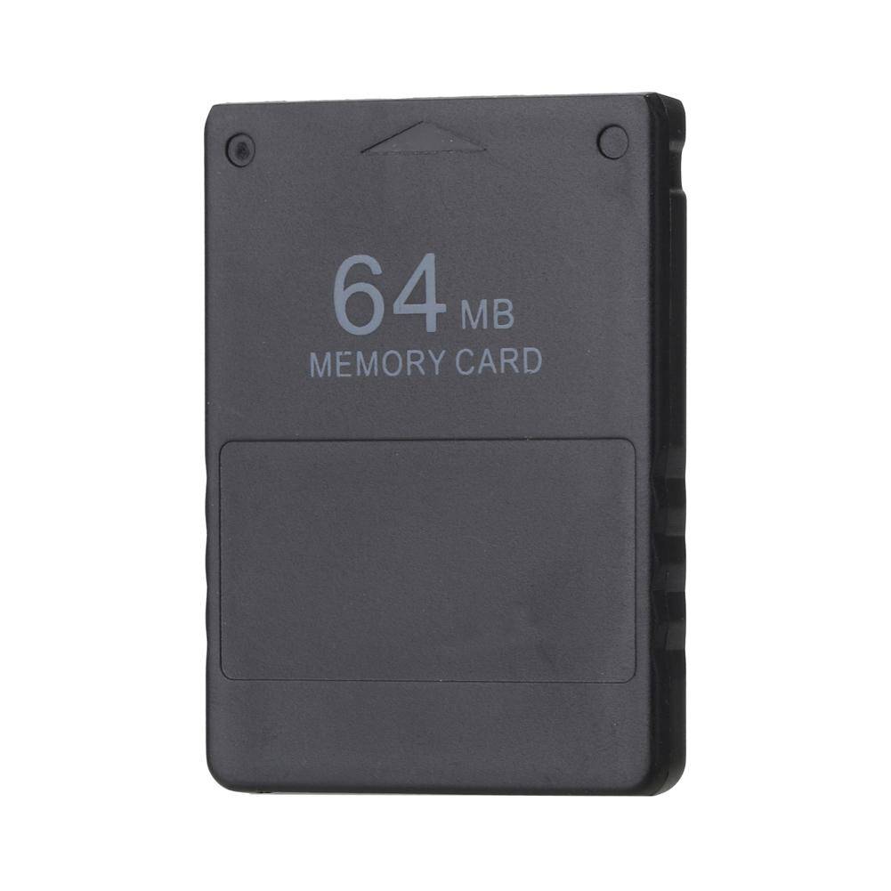 Black 64M Memory Card Save Game Data Stick Module for Sony PlayStation 2 PS2 Extended Card Game Saver