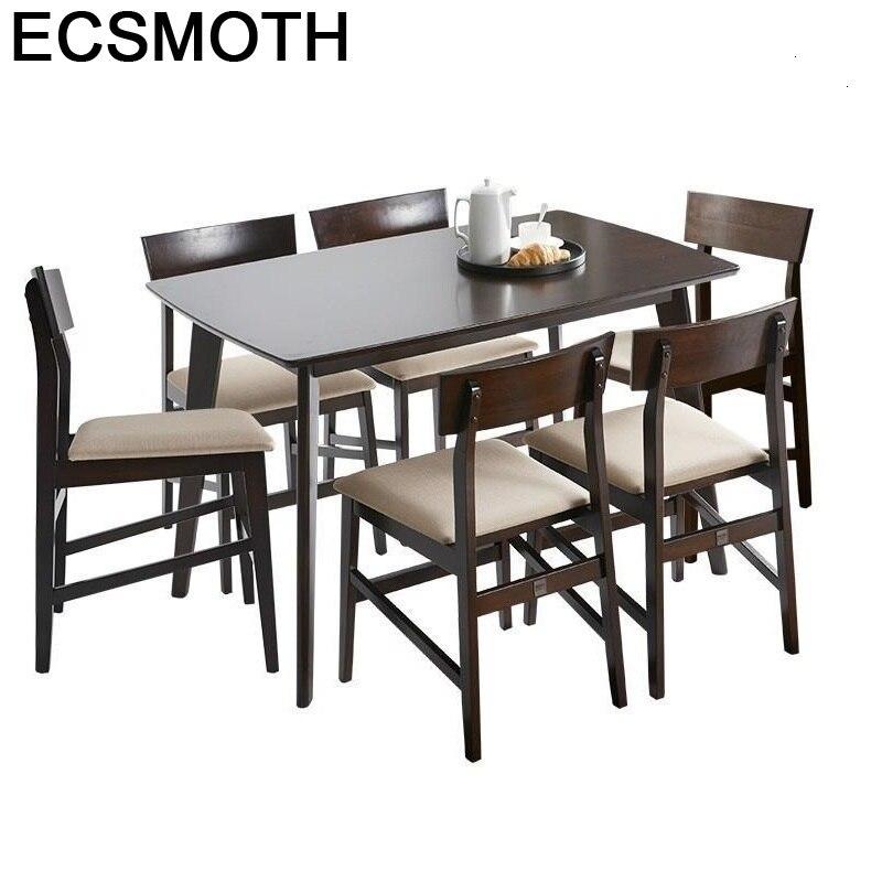 Tafel Comedores Mueble A Manger Moderne Sala Dinning Yemek Masasi Set Wooden Tablo Comedor Mesa De Jantar Bureau Dining Table