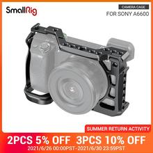 """SmallRig A6600 Vlog Shooting Cage for Sony A6600 Camera Cage With Cold Shoe Mount/ARRI 3/8"""" 16 Accessory Thread  2493"""