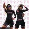 2020 pro equipe triathlon terno feminino camisa de ciclismo skinsuit macacão maillot ciclismo roupas ropa ciclismo conjunto rosa almofada gel 23