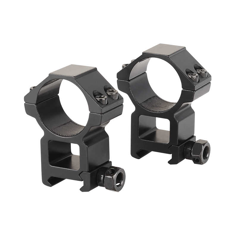 Anillo de montaje para Visor de caza de 25,4mm/Picatinny 30mm, anillos de montaje de Weaver carril, monturas estables de alta calidad para riel de Picatinny de 22mm