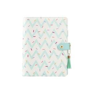 Image 5 - Lovedoki 2019 Cute Doughnut Planner Organizer Agenda A5 Spiral Notebooks Student Diary Sketch Book School Stationery Supplies