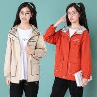 Autumn And Winter WOMEN'S Dress Autumn New Style Junior High School STUDENT'S Short Jacket Women's College Style Loose Fit Korea