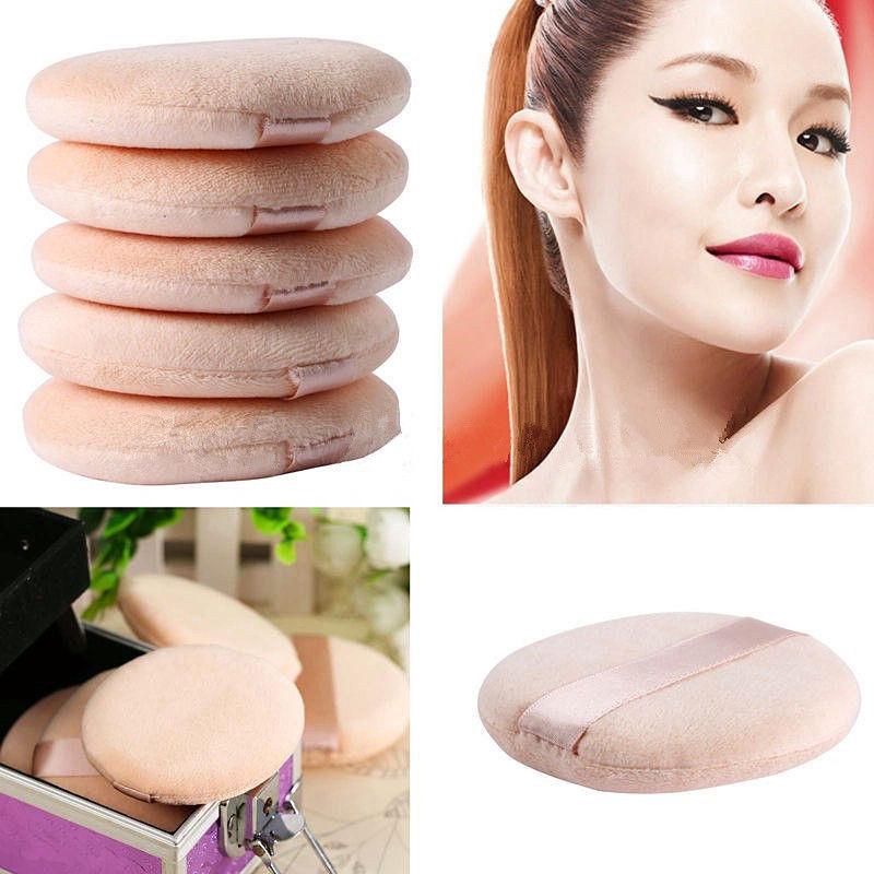 5 pçs macio facial beleza esponja em pó puff pads rosto fundação ferramenta de cosméticos
