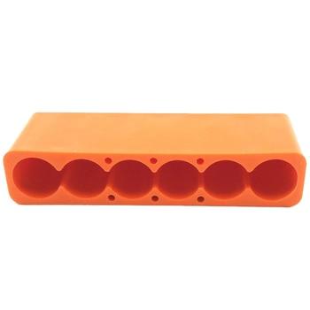 6 секций 18650 Батарея Универсальный точечной сварки приспособление для точечной сварки пластиковая батарея точечной сварки приспособление (...