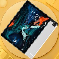 2021 nowy Android 9.0 / 10.1 cala Tablet PC potrójny aparat 6G + 128GB Tablet PC 4G telefon Dual SIM dzieci nauka Tablet PC