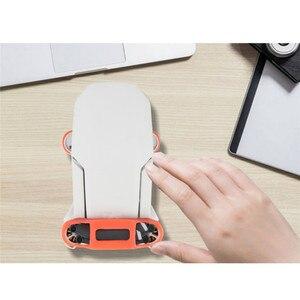 Image 3 - Support de palette en Silicone à dégagement rapide pour DJI Mavic Mini Drone support de lames dhélice stabilisateur accessoires de protection support de fixation
