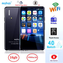 New 16GB WIFI Bluetooth MP4 Player Speaker MP3 Touch Screen Mahdi 4.0 inch Music MP5 Video Player Support TF Card FM/ Recorder(China)