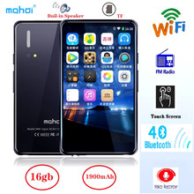 Mp4-Player Mahdi Speaker Mp3 Support Tf-Card Touch-Screen MP5 Bluetooth WIFI Music Fm/Recorder