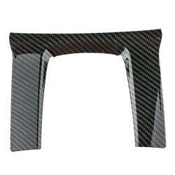 Carbon Fiberinner Stijl Versnellingspook Frame Cover Trim Voor Honda Civic 2016-2019