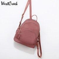 WESTCREEK Brand Waterproof Backpack Women School Bookbags Pink Backpack Cute Small Student Bag School Bags for Teenage Girls