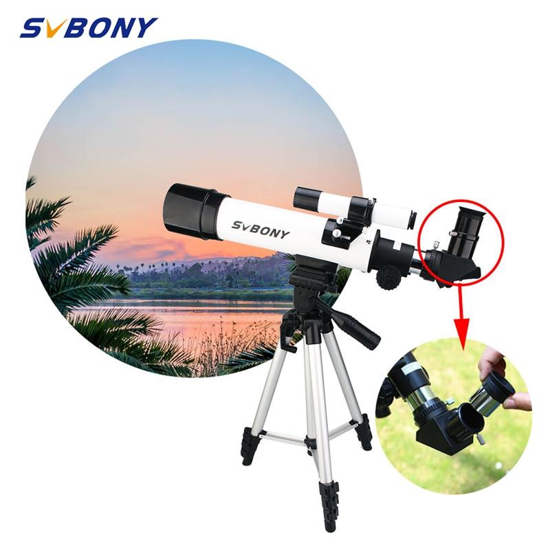 SVBONY SV25 Astronomy Telescope 60420mm Refractor With Mount Tripod Professional Travel  Moon Bird Watching Astronomy Beginners