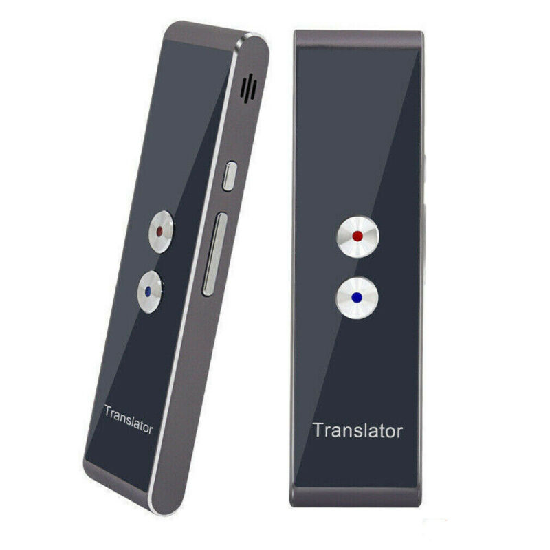 Portable Smart Voice Translator Device Two-Way Real Time 30+ Multi-Language Learning Travelling Business Translation image