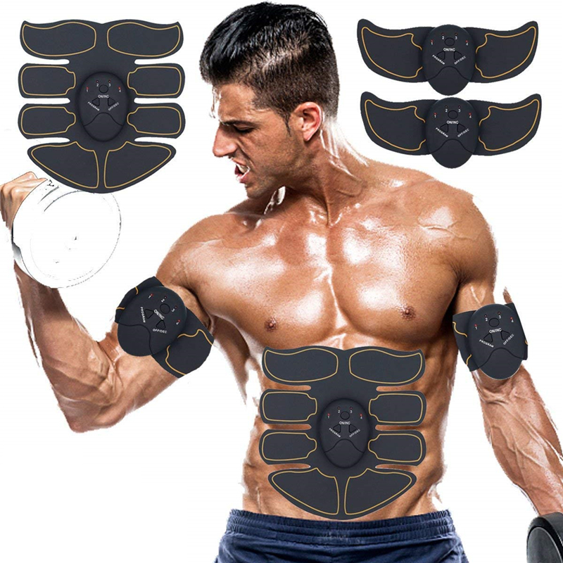 EMS Abs Muscle Stimulator Trainer Smart Wireless Machine Muscle Stimulator Fitness Abdominal Anti-cellulite Electric Massager