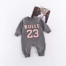 Newborn Bodysuit Baby Girl Boy Clothes 100% Cotton Cartoon Print Letter Long Sleeve Baby Clothes 1 Piece 0-24 Months 2018 real 100% cotton baby clothing three piece normal boy girl clothessize bodysuit