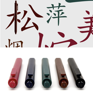 Image 3 - 5 adet/paket Youpin KACO 0.5mm işareti kalem imza kalem pürüzsüz mürekkep yazma dayanıklı İmza 5 renk öğrenci okul/Ofis çalışanı