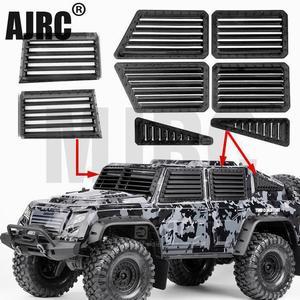 Traxxas Trx4 unidad táctica defensa Sideguard Kit impresión 3d lateral ventana armadura frontal parabrisas defensa bisel 82066-4 Trx-4