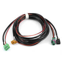 Para MIB Carplay MQB Phone Car AUX USB Switch Harness 5G0 035 222 E ,5Q0 035 724 se adapta a VW Golf MK7 Lamando 5Q0 035 726 E