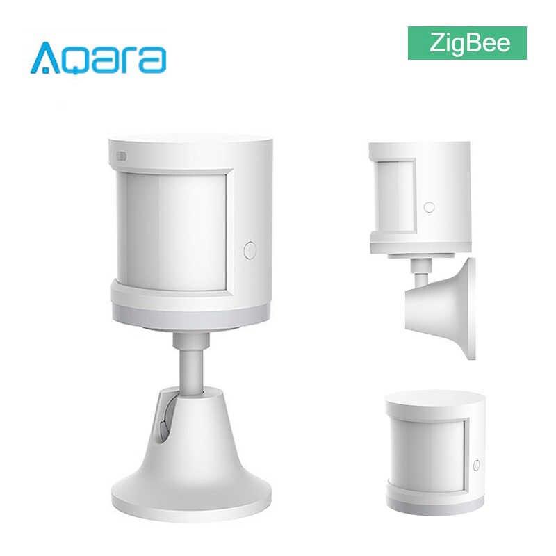Aqara 人体センサーの zigbee バージョンワイヤレス wifi ホルダースマート mi ホームアプリゲートウェイハブ ios/アンドロイド