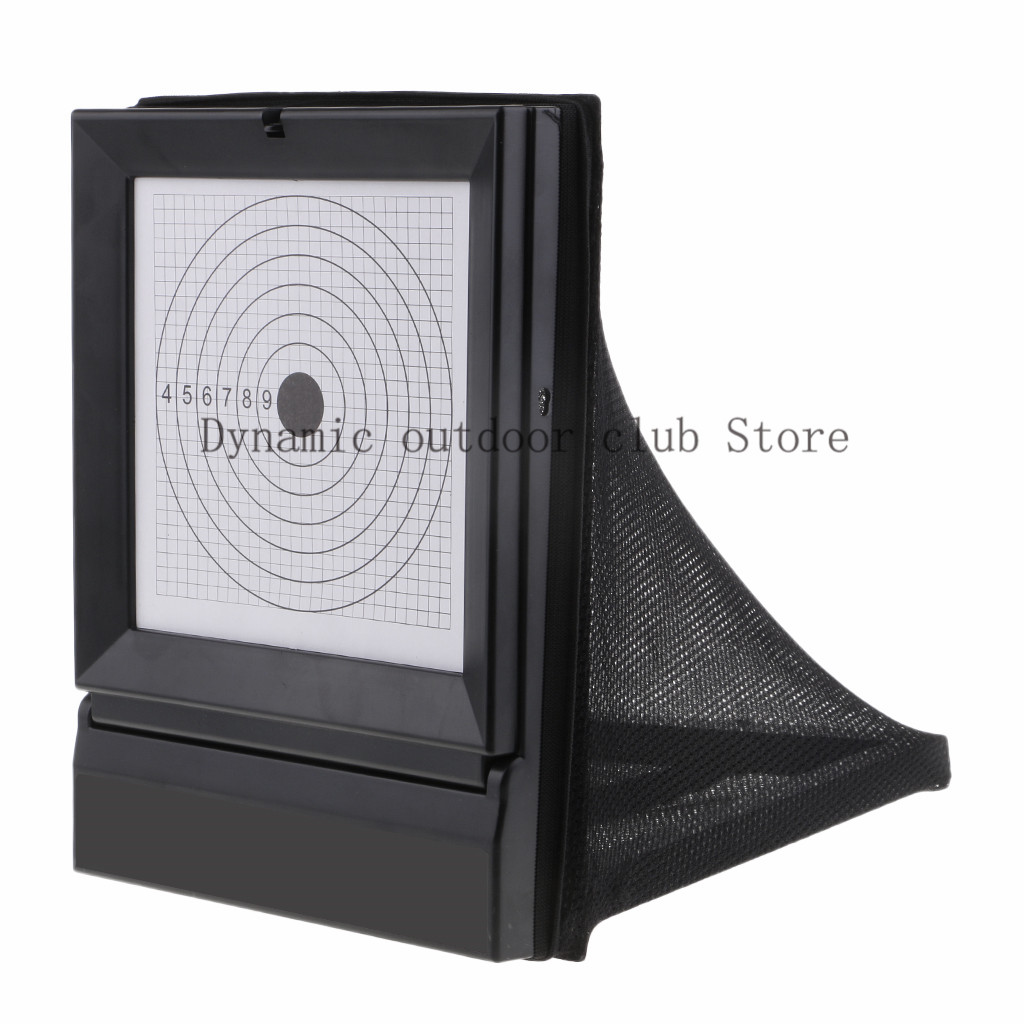 Totrait New Shooting Target Reusable BB & Pellet Trap Net Catcher Shooting Training