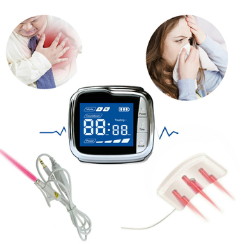 Cold Laser Therapy Watch for Pain Relief Hypertension Diabetes Prevent Arteriosclerosis