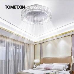 50 см умный светодиодный потолочный вентилятор, вентиляторы с подсветкой, дистанционное управление, декор для спальни, вентилятор, лампа, не...