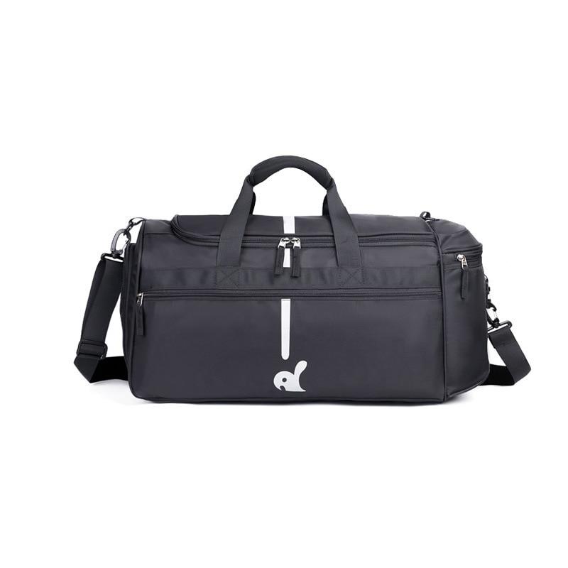 One-Shoulder Bag Casual Travel Fashion Sports Cylinder Waterproof Gym bag