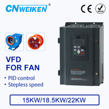 цена на Speed controller For FAN Motor 380V 15KW/18.5KW/22KW 3 Phase Input And Three Output 50hz/60hz AC Drive VFD Frequency Inverter
