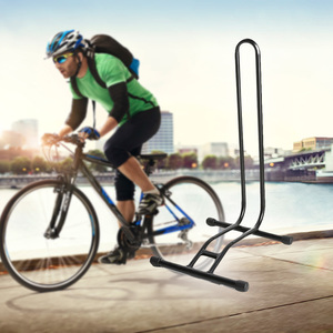 Steady Mountain Bike Rack Parking Holder Bicycle Coated Steel Display Floor Rack Bike L-type Repair Stand Holder Accessories(China)