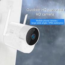 Xiaovv Camera Ngoài Trời Sát 360 IP 1080P 180 ° Cho Bé Màn Hình Độ Nét Cao Ứng Dụng Điều Khiển Camera