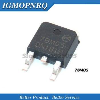 10 Uds 78M05-252 7805 L78M05CDT 78M06 78M08 78M09 78M12 78M15 7806 de 7808 de 7812, tres-terminal regulador de tensión triodo nuevo