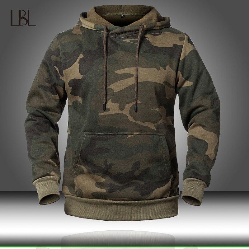 Camouflage Hoodies Männer 2020 Neue Mode Sweatshirt Männlichen Camo Hoody Hüfte Herbst Winter Military Hoodie Herren Kleidung US/EUR größe