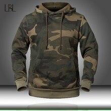 Camuflagem hoodies 2020 nova moda moletom masculino camo com capuz hip outono inverno militar hoodie dos homens roupas eua/eur tamanho