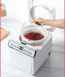 x60 household fruit and vegetable washing machine, plasma + active oxygen vegetables and fruits to remove residue, food purifier