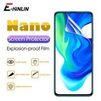 2pcs HD Rimuovono la Protezione Dello Schermo di Visualizzazione Morbido Nano Anti Esplosione Pellicola Protettiva Per Xiaomi Pocophone Poco X3 NFC X2 f2 Pro M2
