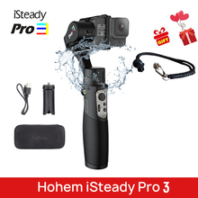 Stabilisateur de poche 3 axes Hohem iSteady Pro 3 cardan pour DJI Osmo Action GoPro 7 6 XiaoYi 4K Sony RXO caméra PK G6 Evolution