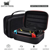 цена DATA FROG Portable Hard Protective Storage Case For Nintend Switch Console Travel Carrying Bag For Nintend Switch Accessories