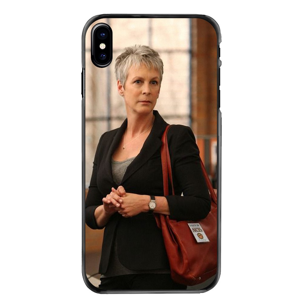 For Samsung Galaxy A3 A5 A7 A8 J1 J2 J3 J5 J7 Prime 2015 2016 2017 Jamie Lee Curtis American author Accessories Hard Phone Cover image