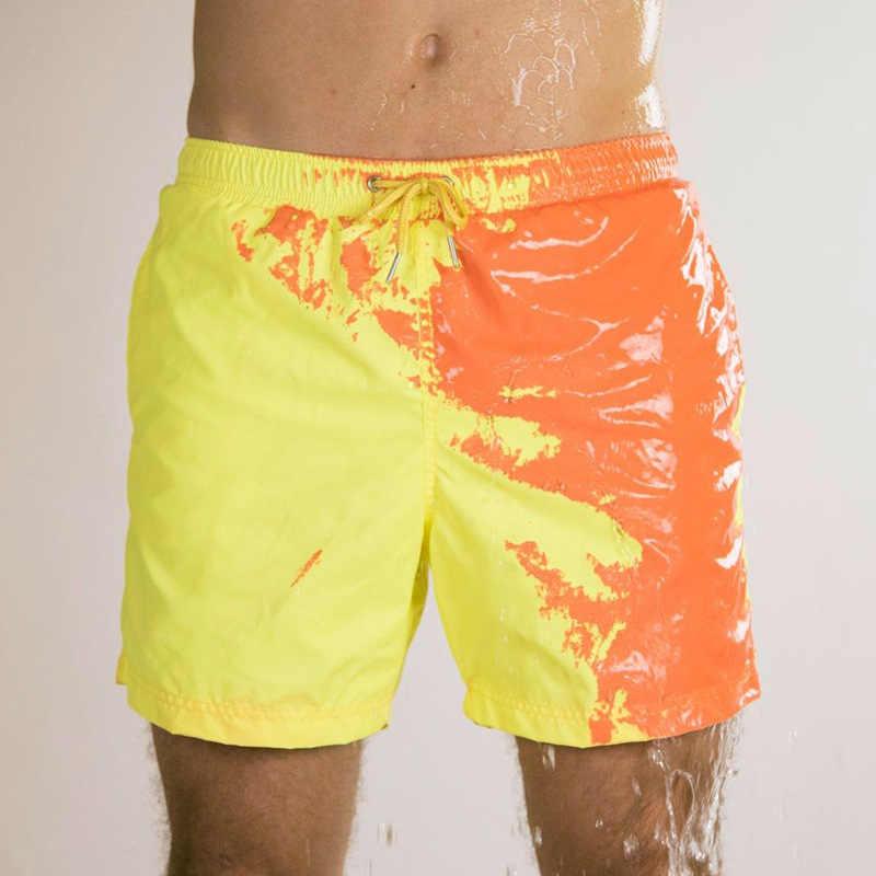 شورت رجالي جديد سريع الجفاف موضة صيف 2020 مطبوع للشاطئ شورت لركوب الأمواج برمودا شورت رياضي رجالي للجيم
