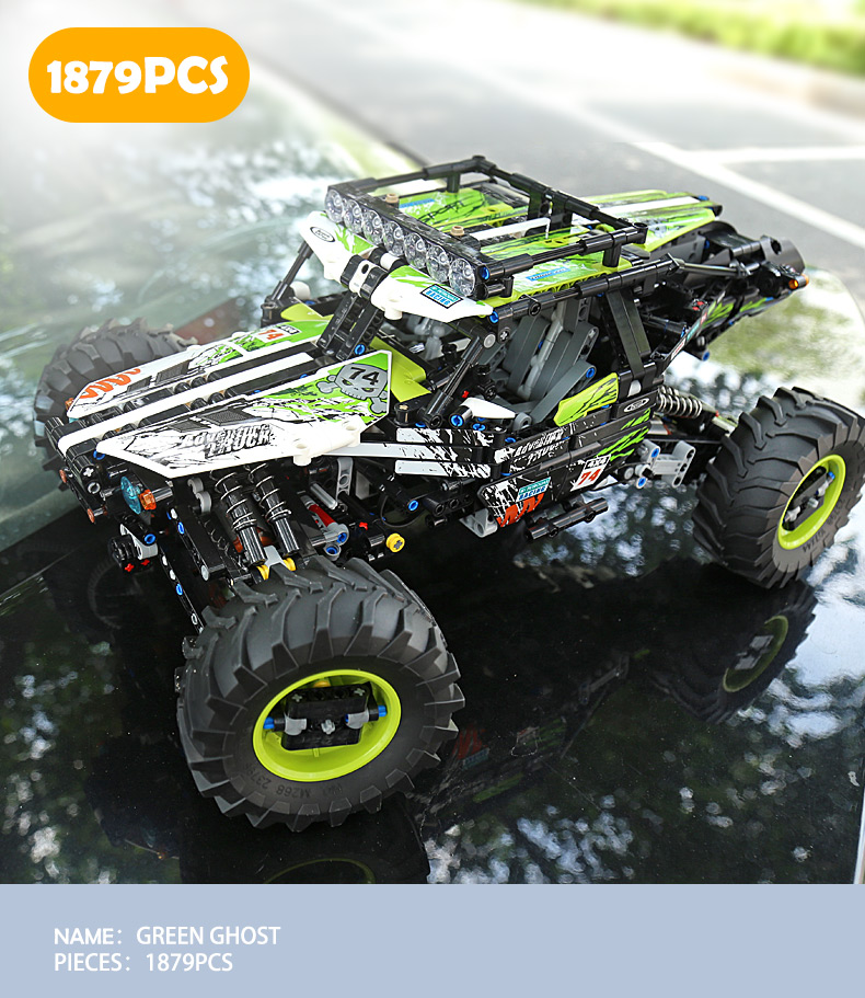 TECHNIC MOULDKING 18002 4WD RC Buggy Compatible MOC 19517