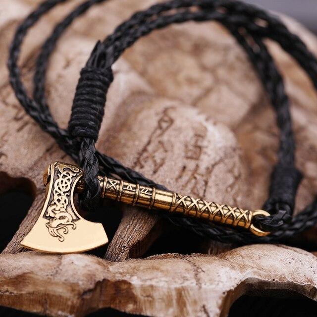 Bracelet slavonique Viking hache 6