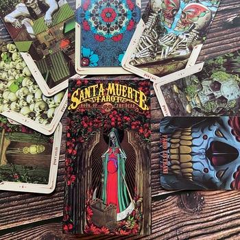 Santa Muerte Tarot Deck Book of the Dead Cards Deck Tarot Oracle Cards Game
