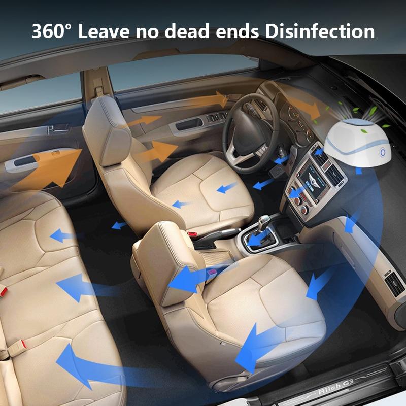 USB Portable Car Home UV Disinfection Lamp UV Portable Antivirus Germicidal Sterilizer UV Sanitizer Light Cold Cathode UV Lamp