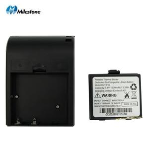 Image 4 - Milestone Bluetooth Thermische Printer Ontvangst Factuur 58Mm Mini Usb Draagbare Draadloze Ticket Android Ios Pocket Printer P10
