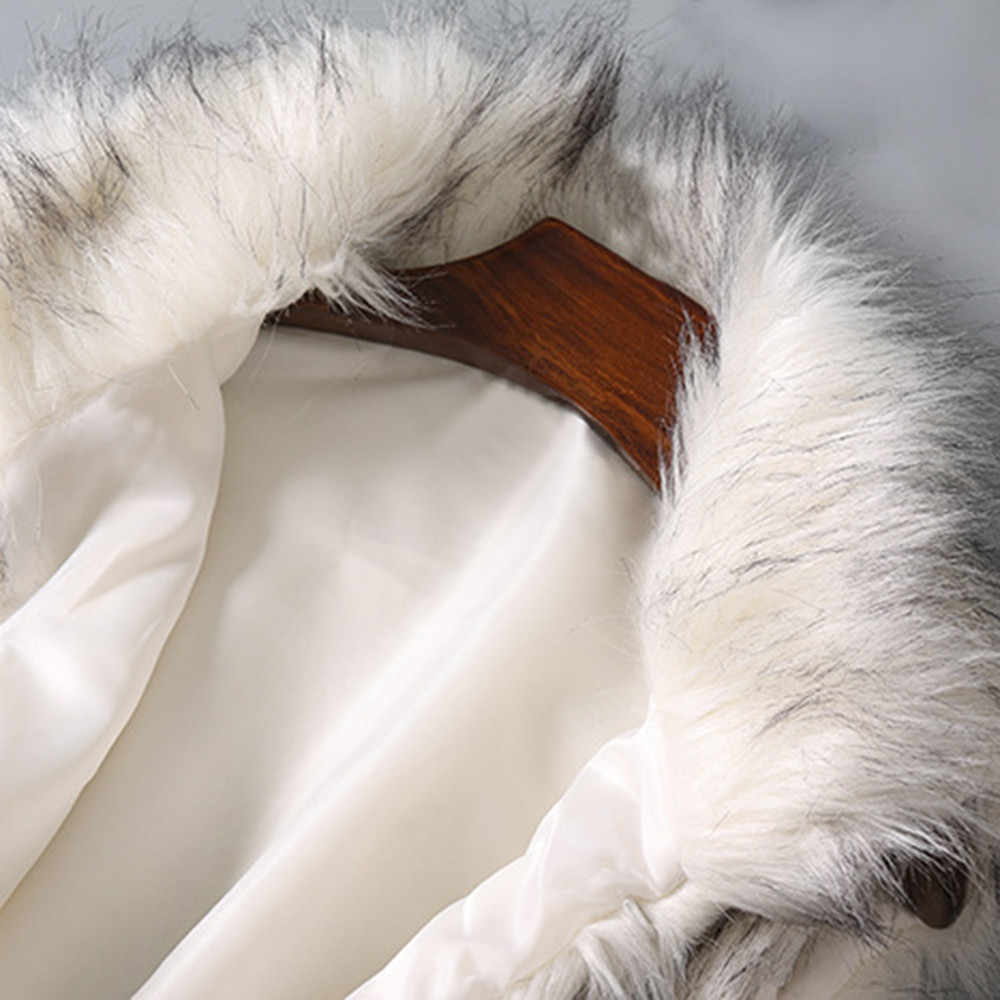 2019 Mới Thời Trang Lông Thú Giả Áo Khoác Mùa Đông Nữ Bo Phối Áo Khoác Nữ Lông Áo Vest Nữ Áo Vest Len Nam Cổ Đứng giả Áo Khoác #1028