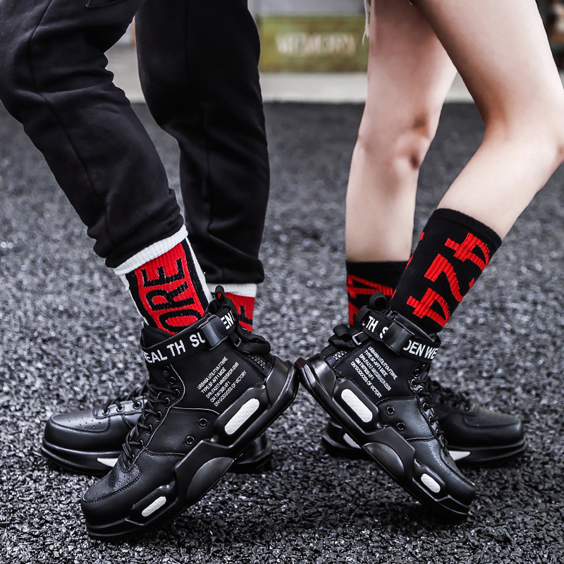 Leader Show Couple Sport Shoes Comfortable Brand Rubber  Sneaker For Man And Women Trend Zapatillas Hombre 2019 Couple Sneakers