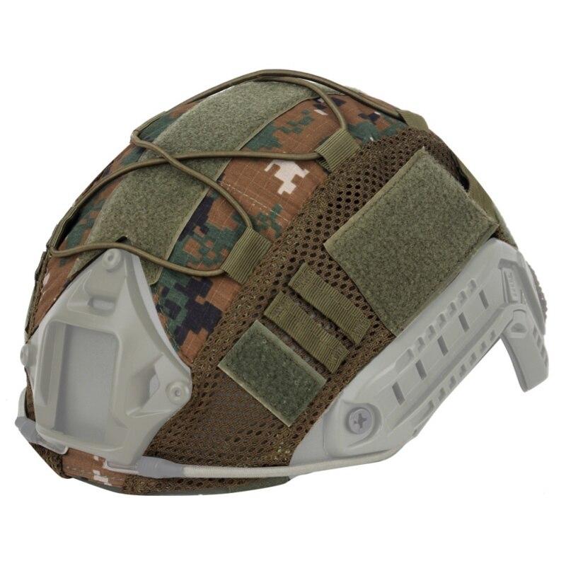 Охотничий Тактический военный боевой шлем крышка CS Wargame спортивный шлем Крышка для ops-ядра PJ/BJ/MH Тип Быстрый Шлем
