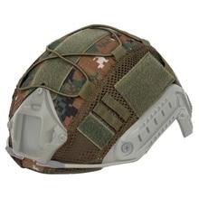 Cubierta de casco de combate militar táctico de caza CS Wargame, cubierta de casco deportivo para casco tipo Ops-Core PJ/BJ/MH, casco rápido